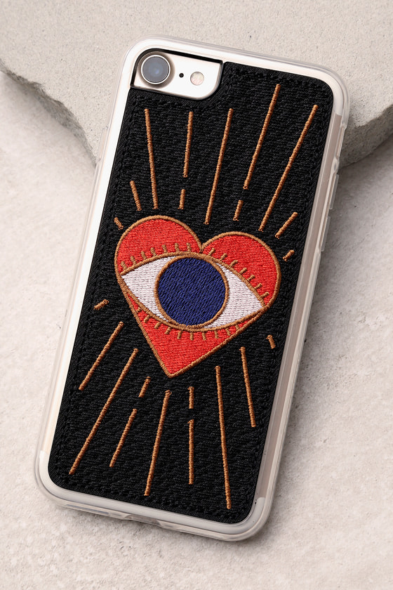 Zero Gravity Visions Black Embroidered iPhone 7 Case 2