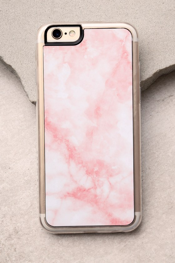 Zero Gravity Blush Pink Marble iPhone 6 and 6s Case 3