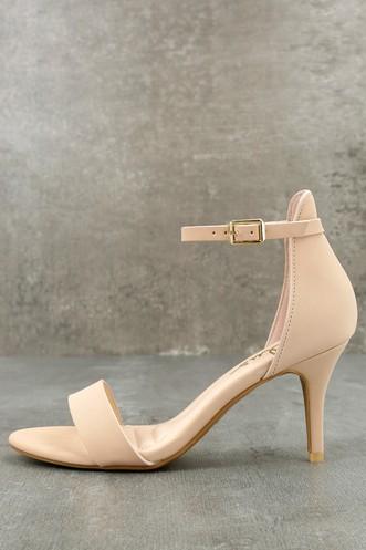 8147959273d4 Ankle Strap Heels - Women s High Heels - Strappy Heels for Women