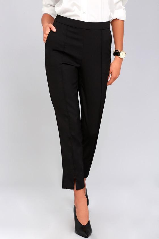 Aisha Black Trouser Pants 3