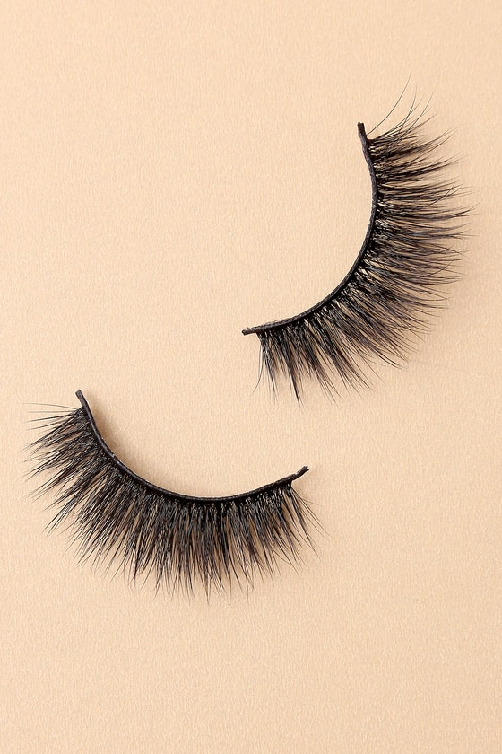 Battington Lashes Bardot 3D Black Silk False Eyelashes 4