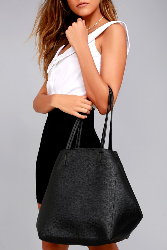 Love How You Love Me Black Tote 1