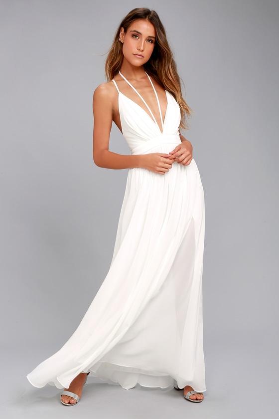 Brilliant Beauty White Maxi Dress 5