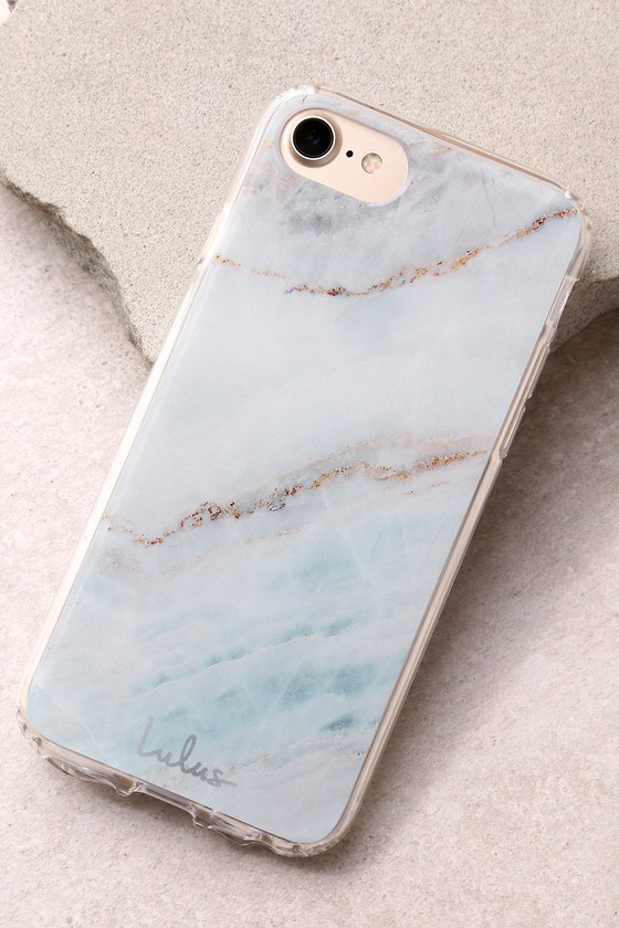 The Casery Multi Marble Silver iPhone 6/6s and 7 Case 1