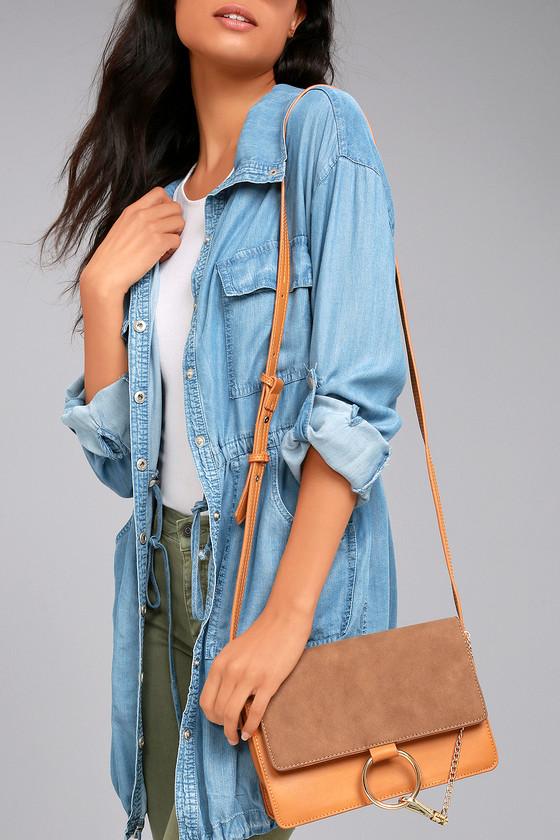 Bag Bliss Tan Purse 1