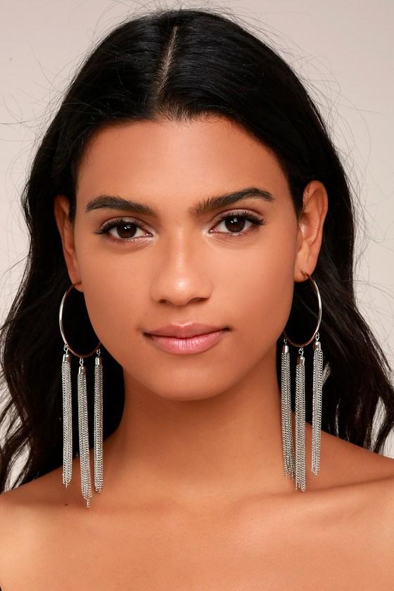 Brightest Light Silver Earrings 1