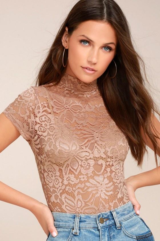 Hush Hush Blush Lace Bodysuit 5