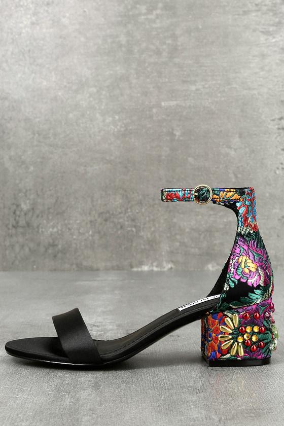 3d8e7bc4394 Steve Madden Inca Bright Multi Heels - Brocade Sandals