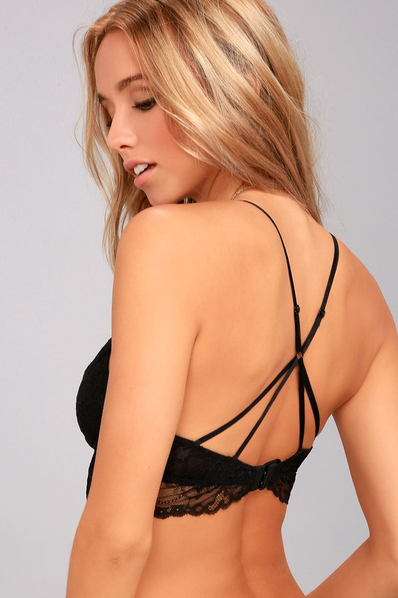 Dream Delight Black Lace Bralette 2