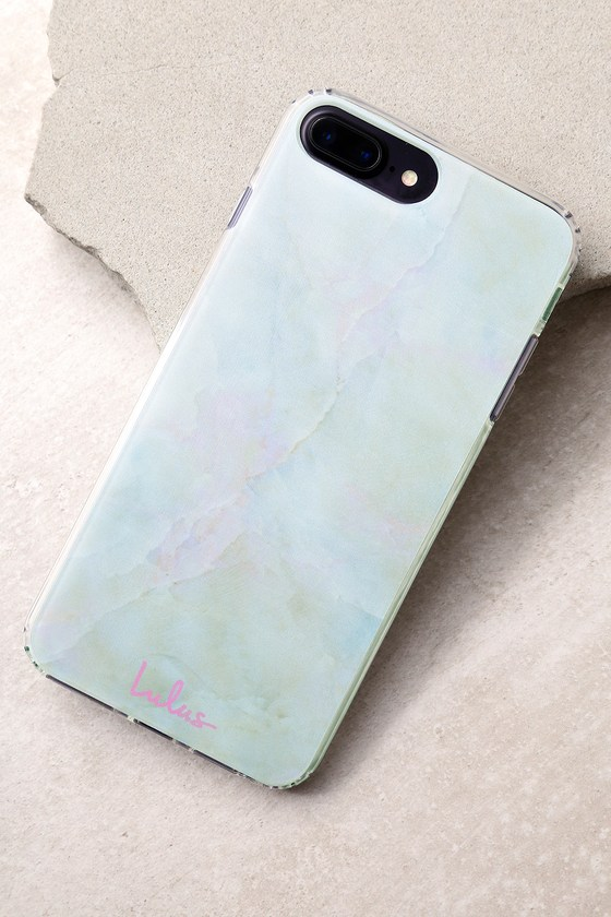 Celestine Multi Marble Pink iPhone 6/6s Plus and 7 Plus Case 1