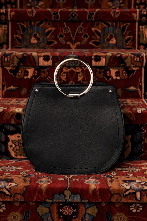 Melie Bianco Cameron Black Handbag 5