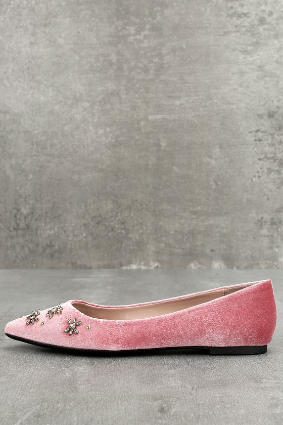 67456f4f231cb0 Circus by Sam Edelman Ritchie - Ash Rose Velvet Flats