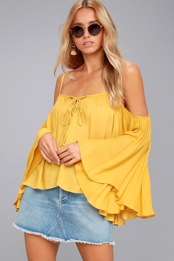 Sunshine Seeker Yellow Top 8