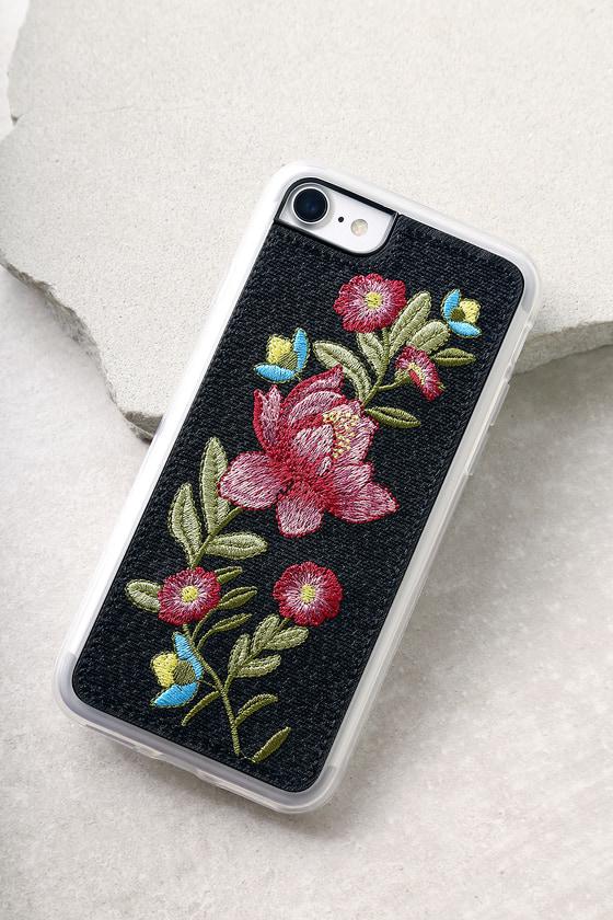 Zero Gravity Riviera Black Embroidered iPhone 7 Case 1