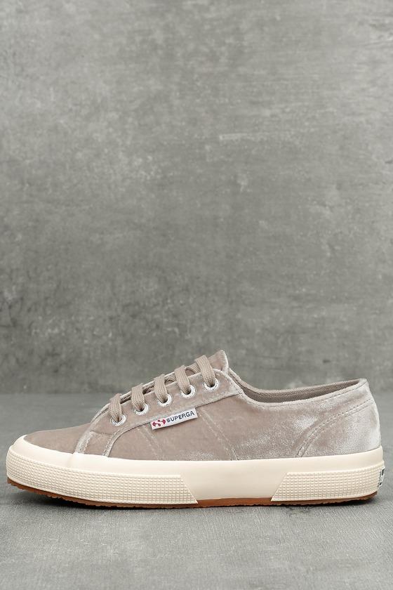 Superga 2750 Velvet - Grey Velvet