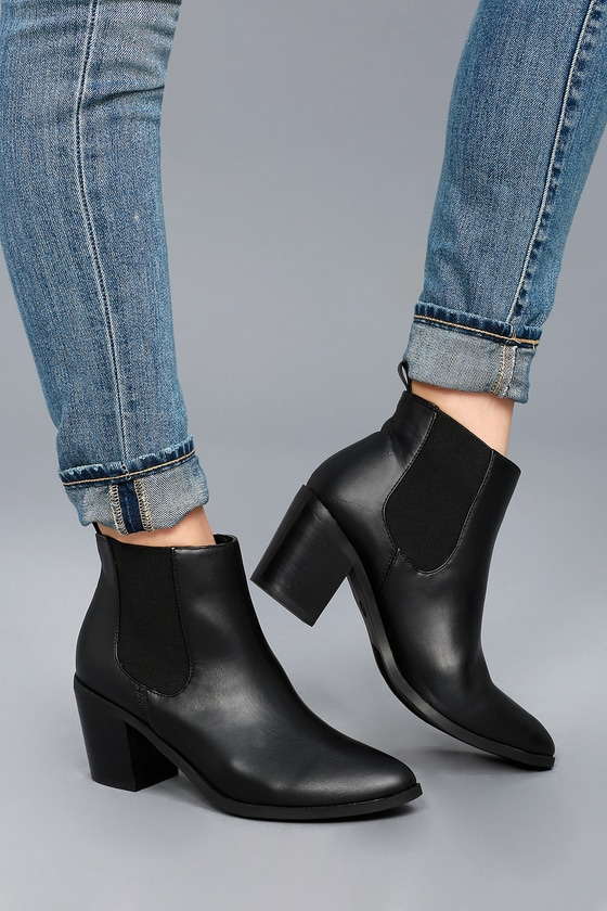 Madden Girl Barbiee - Black Ankle Boots