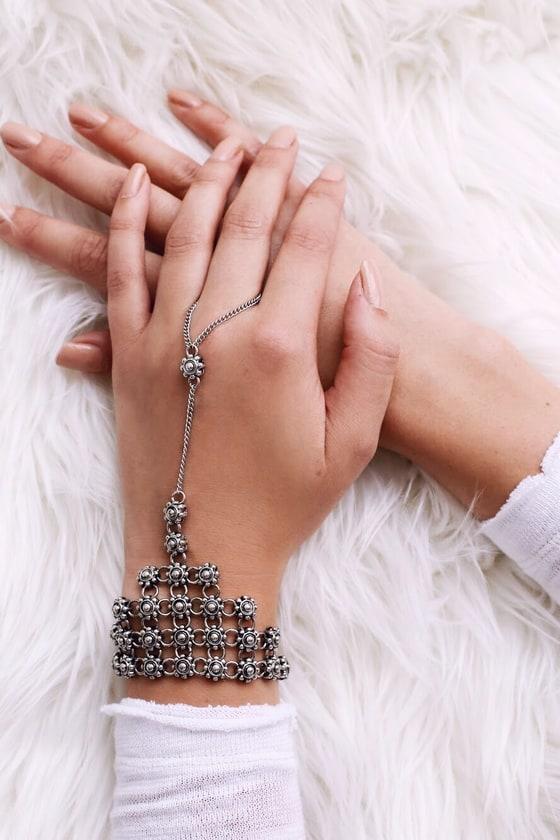 Guiding Spirit Silver Harness Bracelet 1