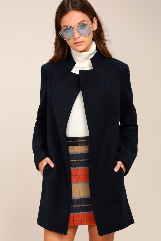 The Fifth Label Dream Town Navy Blue Coat 3