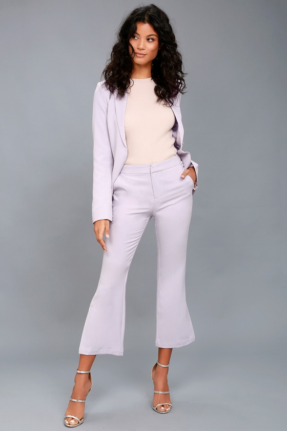 Claudia Lavender Trouser Pants 1