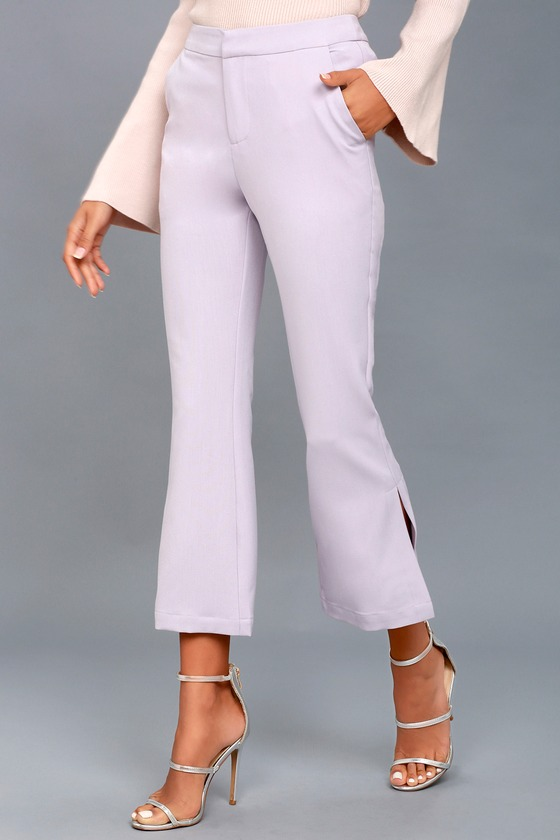 901496c1f847cf Chic Lavender Pants - Trouser Pants - Dress Pants