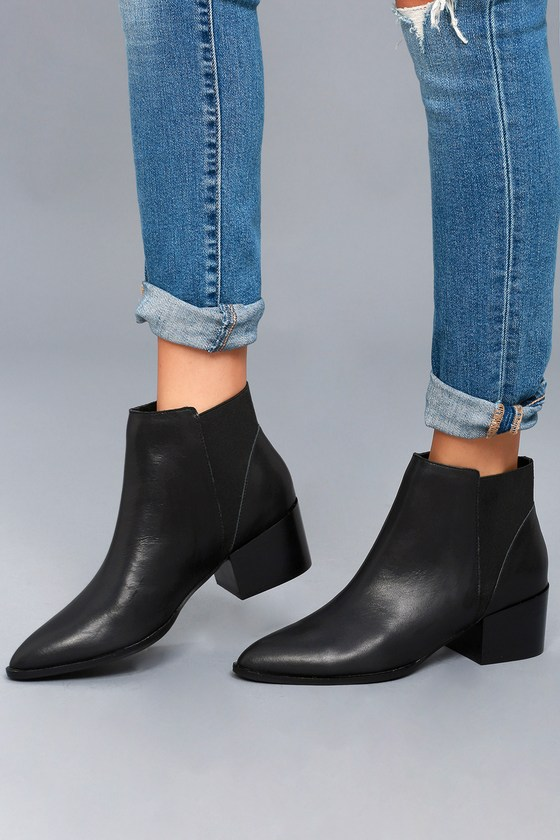 7c5218ac684 Chinese Laundry Finn Booties - Genuine Leather Booties