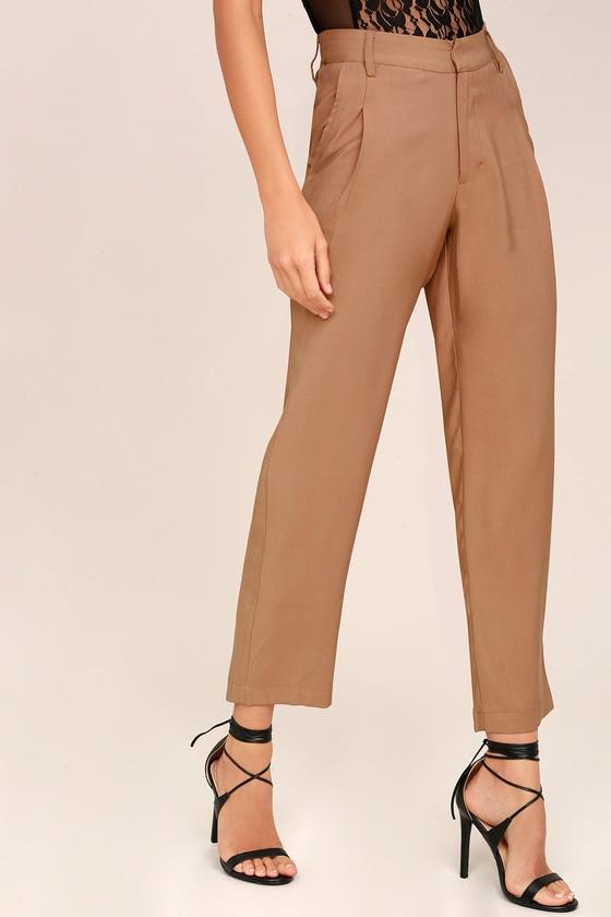 07358179 Larkyn Light Brown Trouser Pants