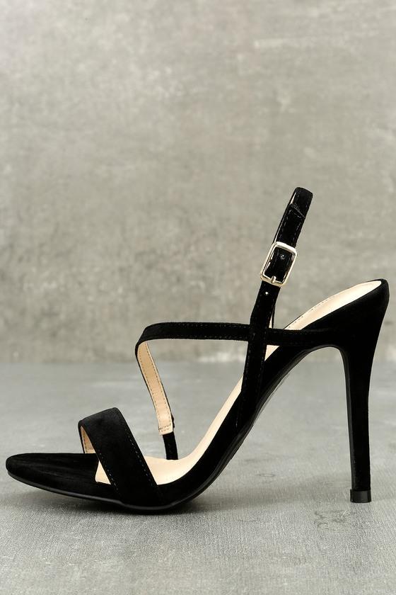 Edi Back Suede Dress Sandals 1