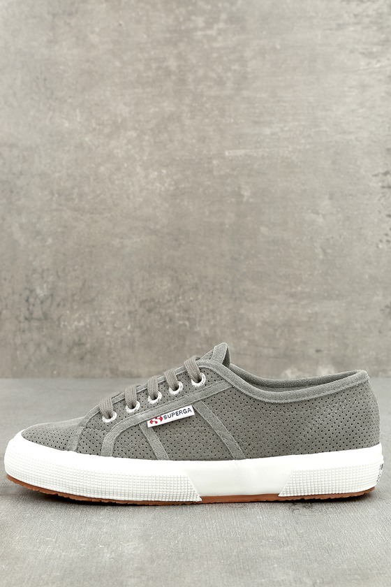 2750 Grey Suede Leather Sneakers