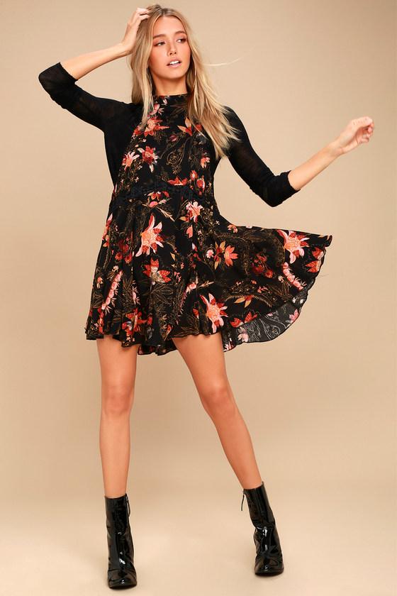 ec50910f55ff Free People She Moves Slip - Floral Print Slip Dress