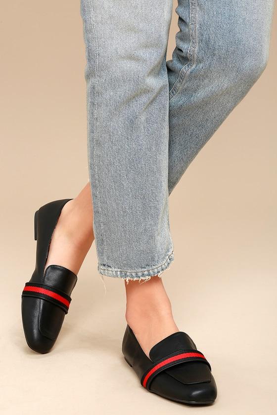 Britta Black Loafers 2