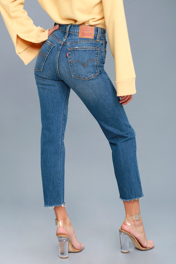 9ff6855ee Levi's Wedgie Fit Jeans - Straight Leg Jeans
