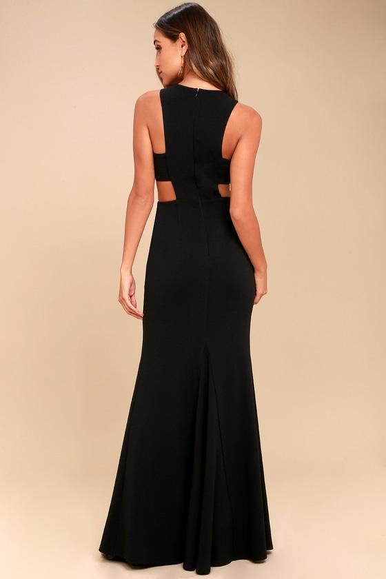 Stunning Maxi Dress Cutout Dress Sleeveless Dress