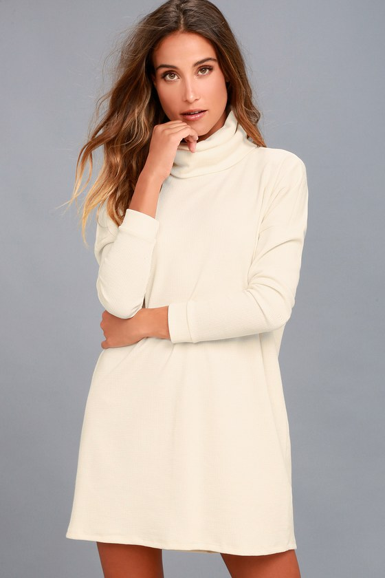 Scheme of Things Cream Long Sleeve Dress 4