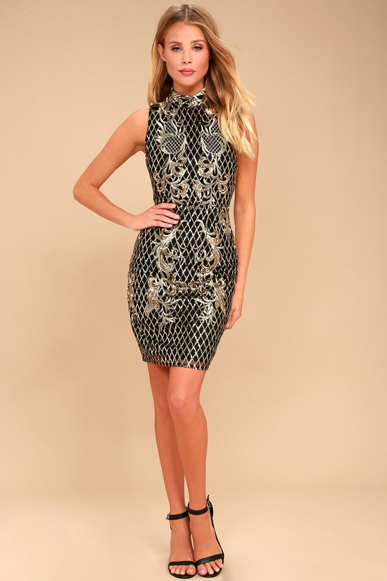 Gold Evening & Formal Dresses. Clothing & Shoes / Women's Clothing / Dresses / Evening & Formal Dresses. of Results. Sort by: Black/gold. Quick View La Femme Show Stopping Sequin Embellished Evening Gown Dress Gold - 0. SALE.