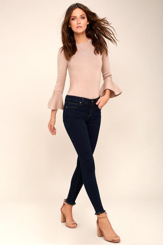 Dayley Dark Wash Skinny Jeans 2