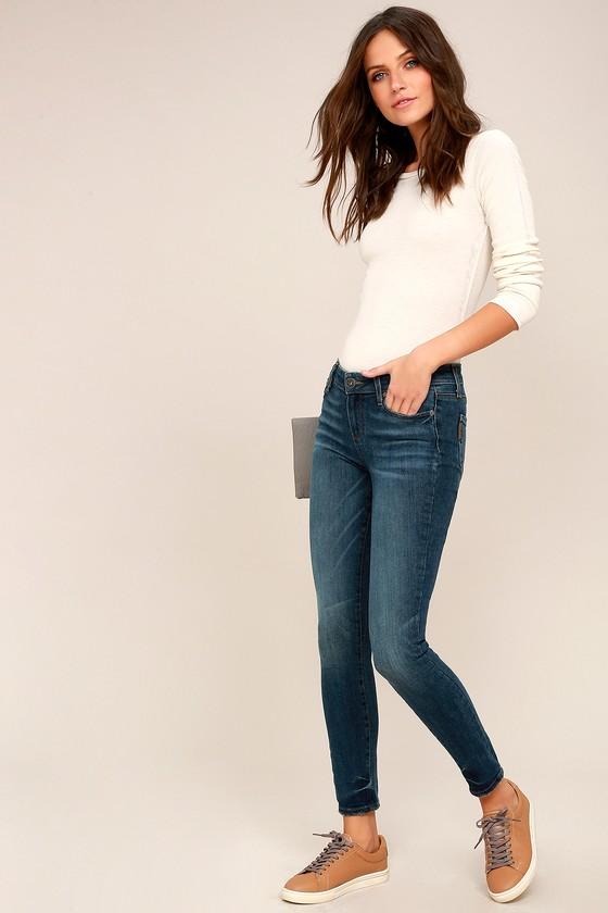Verdugo Medium Wash Skinny Jeans 2
