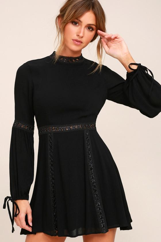bed241888f84 Lost + Wander Indie Mae Dress - Long Sleeve Skater Dress
