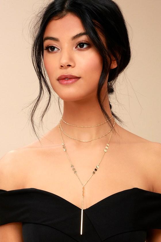 Beyond Beautiful Gold Layered Necklace 1