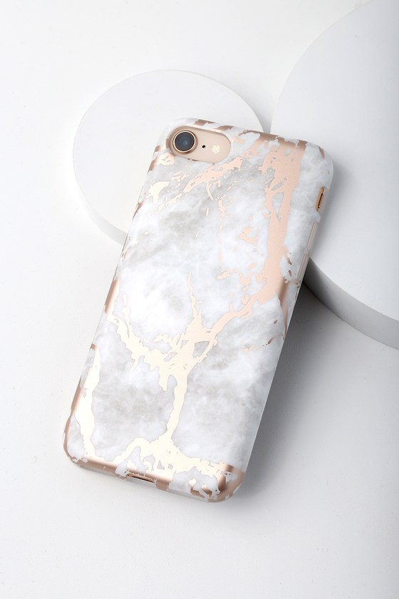 white marble iphone 7 case