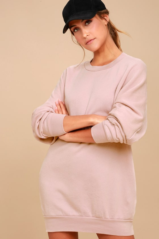 Project Social T Salty - Sweater Dress - Sweatshirt Dress