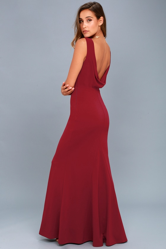 Old Fashioned Red Maxi Party Dress Mold - Wedding Dresses and Gowns ...