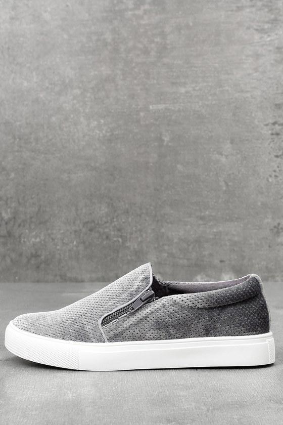 Alma Slate Slip-On Sneakers