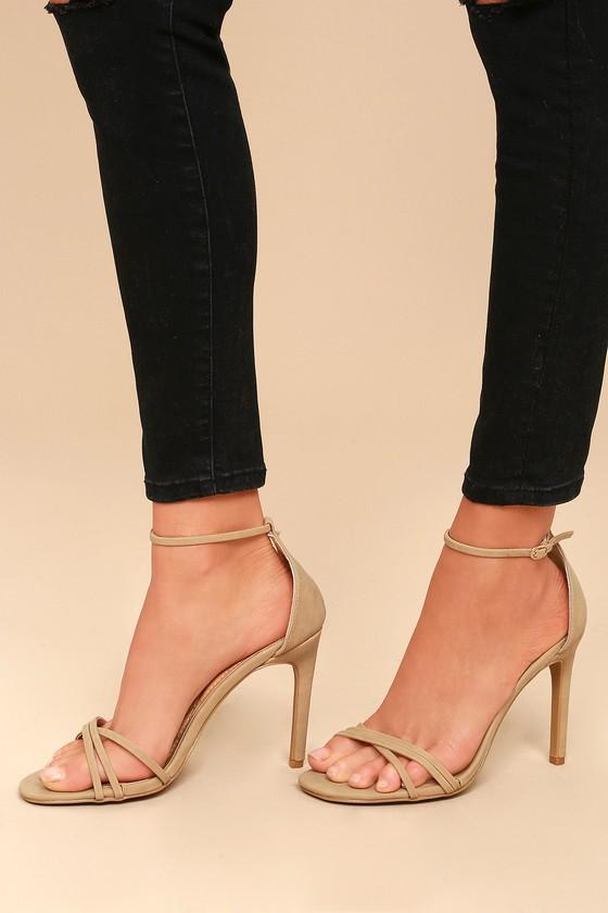 Lulus Akira Patent Ankle Strap Heels - Lulus DHsy4V2