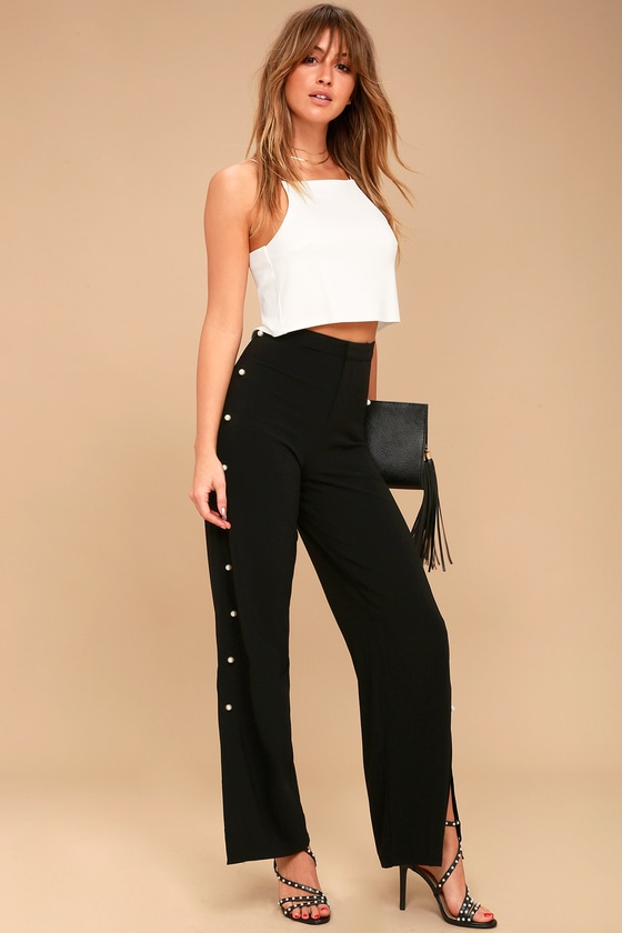 Move Maker Black Pearl Trouser Pants