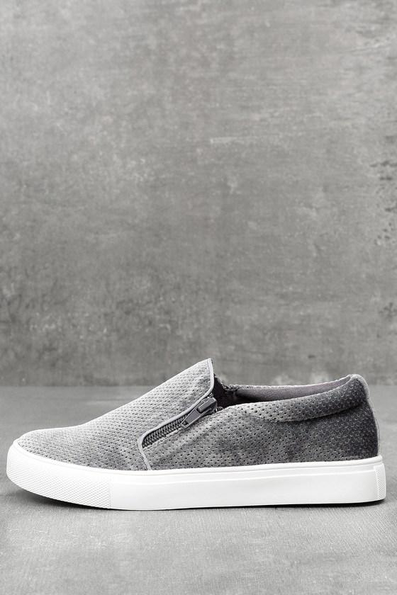 Alma Slate Slip-On Sneakers 3