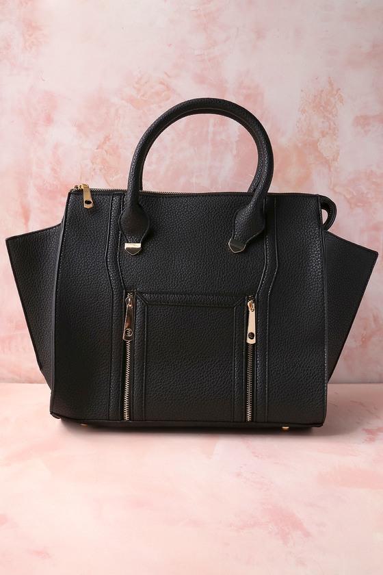 Wing-Woman Black Handbag 7