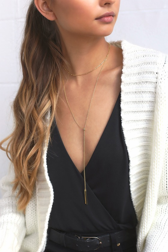 Run to You Gold Choker Necklace Set 4