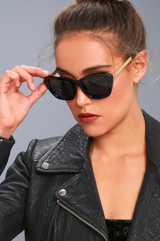 38b8e081d7 Perverse My Sunglasses - Black Sunglasses - Chunky Sunnies