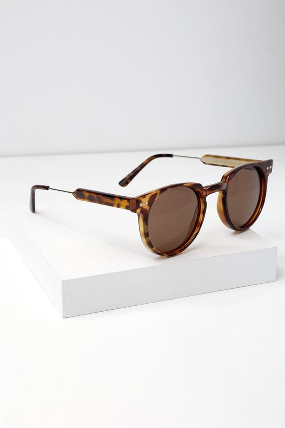 7ce7379771 Spitfire Teddy Boy - Tortoise Sunglasses - Round Sunglasses