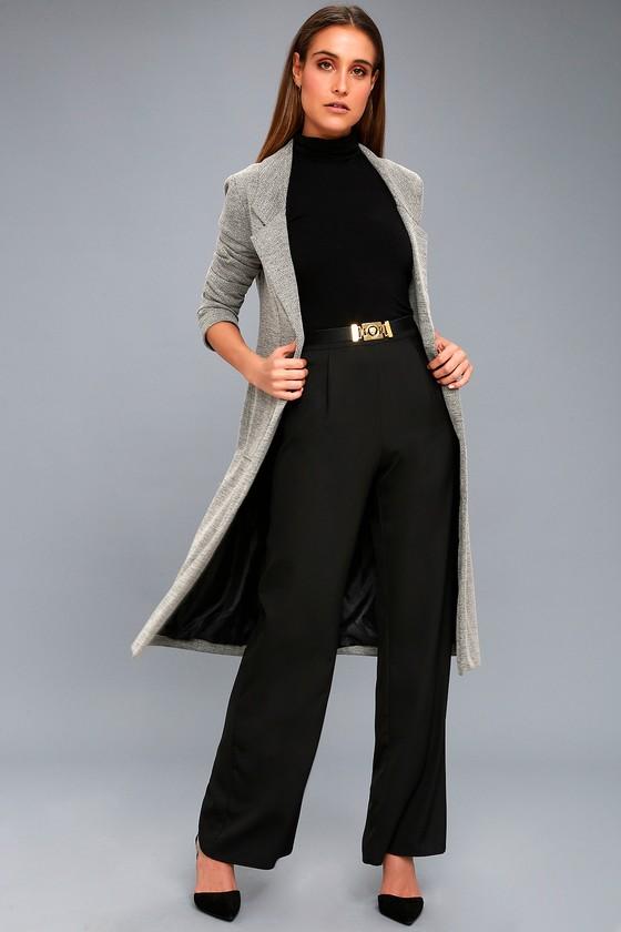 5633a5505a5 ... 95d97b7a5f0591d802667fcb490a3f0d new york fashion week wide leg pants ss.  Chic Black Pants Wide Leg Dress